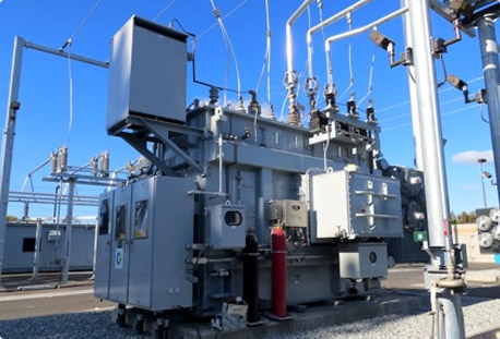 power substation automation